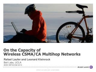 On  the Capacity of Wireless CSMA/CA Multihop Networks