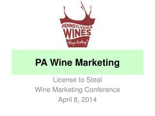 PA Wine Marketing