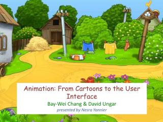 Cartoons vs. User Interfaces