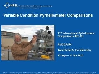 Variable Condition Pyrheliometer Comparisons