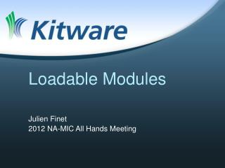 Loadable Modules