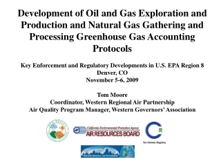 Proposed Mandatory GHG Reporting Rule:   Overview