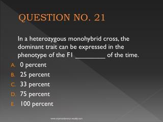QUESTION NO. 21