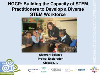 NGCP: Building the Capacity of STEM Practitioners to Develop a Diverse STEM Workforce