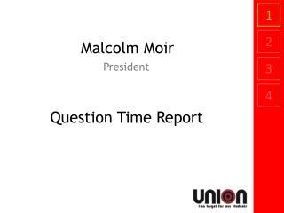 Malcolm Moir