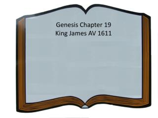 Genesis Chapter  19 King James AV 1611