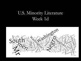 U.S. Minority Literature Week 1d