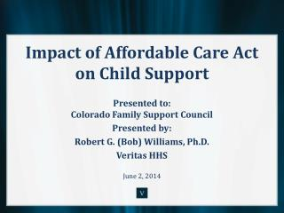 Impact of Affordable Care Act on Child Support