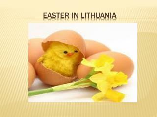 EASTER IN LITHUANIA