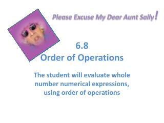 6.8 Order of Operations