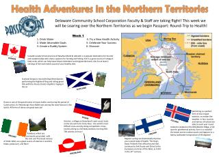 Health Adventures in the  Northern Territories