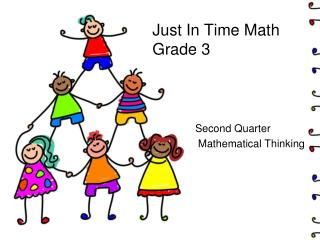 Just In Time Math Grade 3