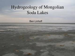 Hydrogeology of Mongolian Soda Lakes