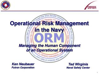 Operational Risk Management in the Navy