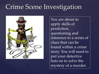 ppt - crime scene investigation & documentation powerpoint, Powerpoint templates
