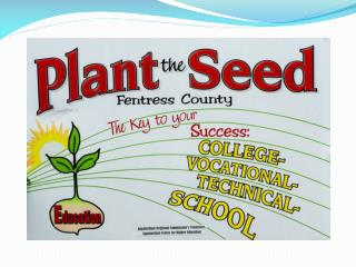 """Plant the SEED""  Fentress County!"
