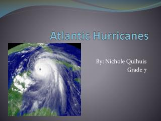 Atlantic Hurricanes