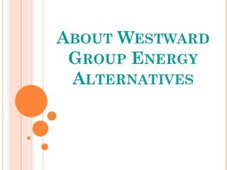 About Westward Group Energy Alternatives