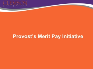Merit Increase Pay Guidelines