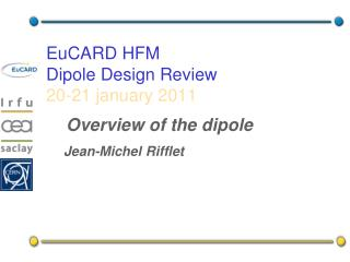 EuCARD  HFM Dipole Design Review 20-21  january  2011