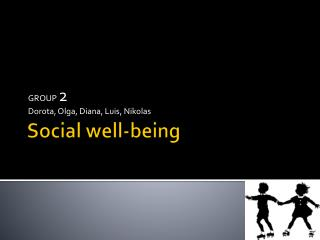 Social  well- being