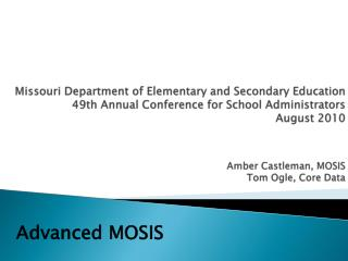 Advanced MOSIS