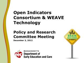 Open Indicators Consortium & WEAVE Technology