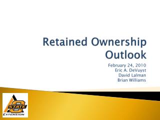 Retained Ownership Outlook