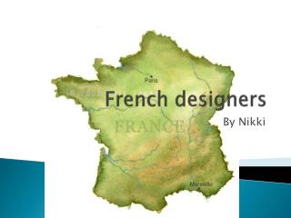 French designers