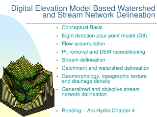 Watershed Delineation