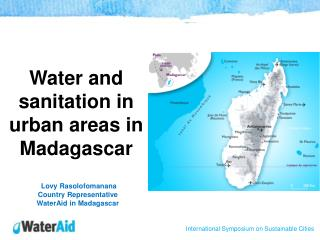 Water and sanitation in urban areas in Madagascar