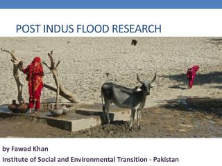 Post Indus Flood Research