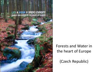 Forests and Water  in  the heart of Europe ( Czech Republic )