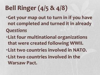 Bell Ringer (4/5 & 4/8)