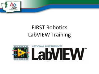 FIRST Robotics LabVIEW  Training