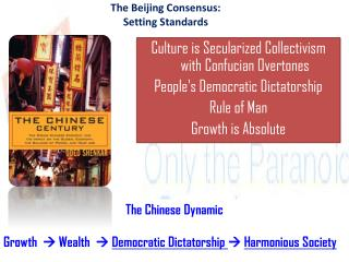 The Beijing Consensus: Setting Standards