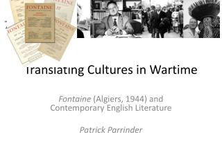 Translating Cultures in Wartime