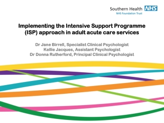 Intensive Support Programme
