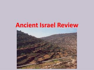 Ancient Israel Review