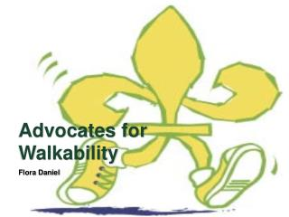 Advocates for Walkability