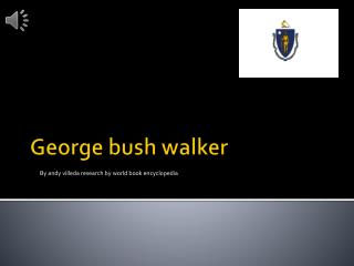 George bush walker