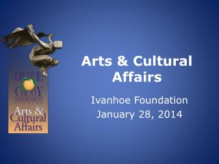 Arts & Cultural Affairs