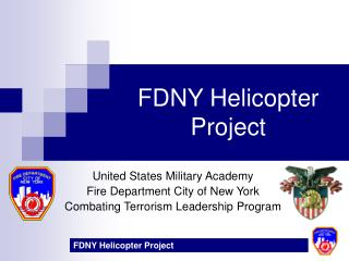 FDNY Helicopter Project