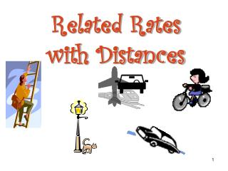 Related Rates with Distances