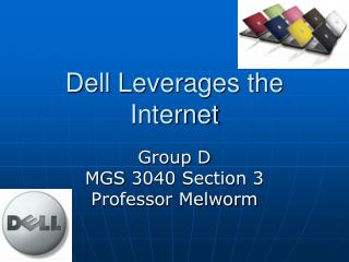 Dell Leverages the Internet