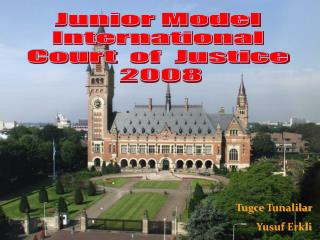 Junior Model  International  Court   of  Justice  2008