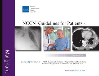 Guidelines for Mesothelioma Patients