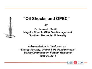 """Oil Shocks and OPEC"" by"