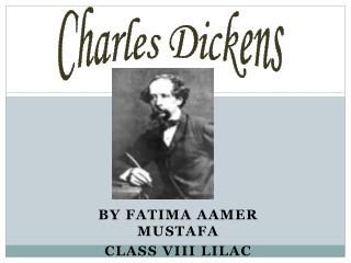 By Fatima Aamer Mustafa Class VIII lilac