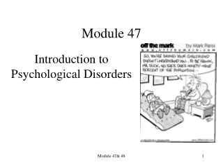 Other Psychotic Disorders  Dissociative Disorders